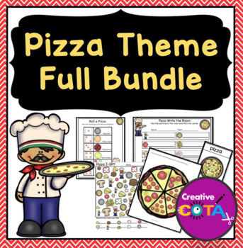 Pizza Theme Differentiated Set