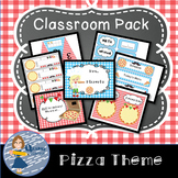 Pizza Themed Classroom Pack
