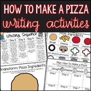 Pizza Themed ELA & Math Activities