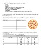 Pizza Themed Fraction Activity