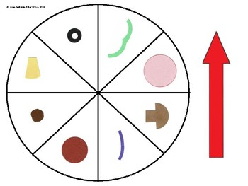 Pizza Topping Spin