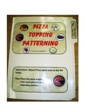 Pizza Toppings Patterning: File Folder Activity