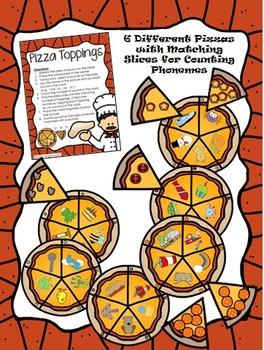 Pizza Toppings- Phonemic Awareness Activities for Segmenting Phonemes