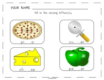 Pizza Worksheets Activities Games Printables and More