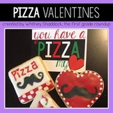 Gift Tags and Valentine Cards: Pizza