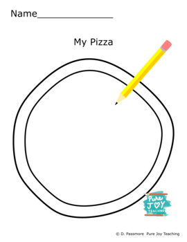 Pizza Worksheet Free coloring page Inspire stories