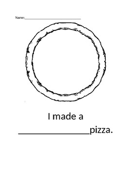 Pizza Writing Activity  By Frank Asch