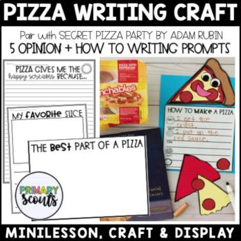 Pizza Writing Craft, K-4