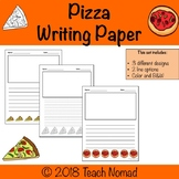 Pizza Writing Paper