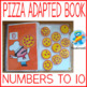 Pizza lovers Bundle. Basic Math.  Numbers from 1-10