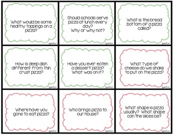 WH questions, AAC, Core Vocabulary Inactivity: Muffin Pizzas