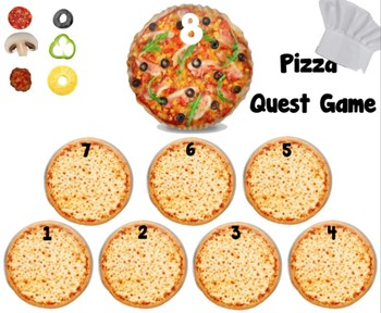 Pizza themed Quest Game