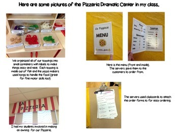 Pizzeria Dramatic Play Center