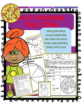 Pizzeria Fractions Activity
