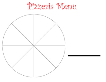 Pizzeria Fractions Menu