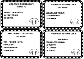Differentiated Pizzeria Fractions Unit