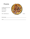 Pizzeria: Project Based Learning