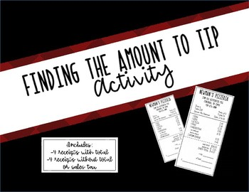 Pizzeria Tipping and Tax Activity