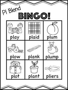 Pl Blend Bingo [10 playing cards]