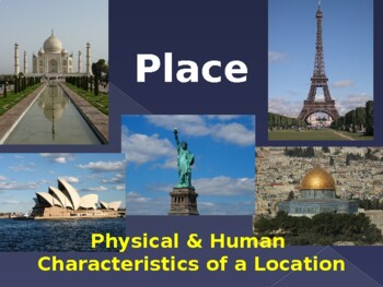 Themes of Geography Series - Place