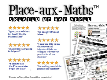 Place-Aux-Maths (FRENCH version of Placemaths)