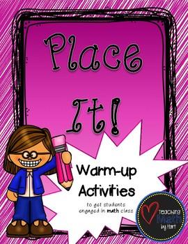 Place It! - A Warm-up Math Activity