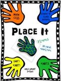 Place It: CCSS Place Value  Math Center