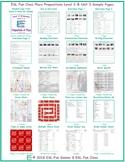 Place Prepositions Level 2-B Unit 3 Bundle