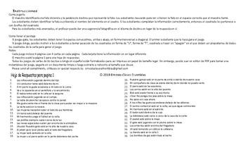Place Prepositions Spanish Legal Size Photo Tic-Tac-Toe-Bingo Game