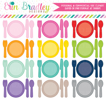 Place Setting Clipart