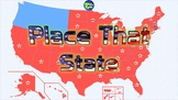 Place That State - American States - Move on Map - Information about State ☺