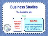 Place - The Marketing Mix - 4 P's - E-Commerce & Distribut