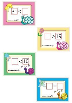 Place The Write Number - 24 Flash Cards