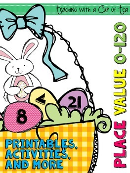 Some Bunny Loves Math! (Place Value 0-120:comparing numbers)