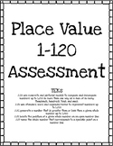 Place Value 1-120 Assessment