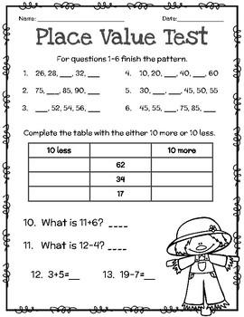 Place Value Test