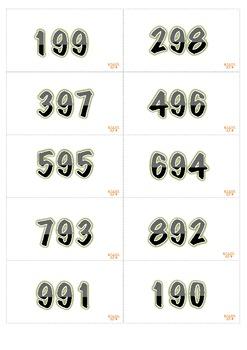 Place Value 100-999 Manipulative Math Center. 2nd grade
