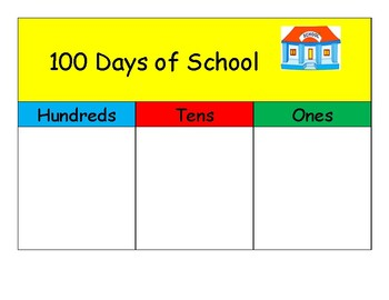 Place Value  100 Days of School