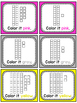 Place Value 100 Chart Puzzle Math Center (Cat)