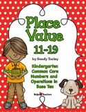 CCSS.Kindergarten.NBT.A-1: Place Value 11-19