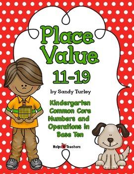 CCSS.Kindergarten.NBT.A-1: Place Value 11-19