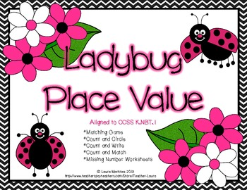 Place Value 11-19 Ladybugs