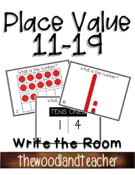 Place Value 11-19 Write the Room