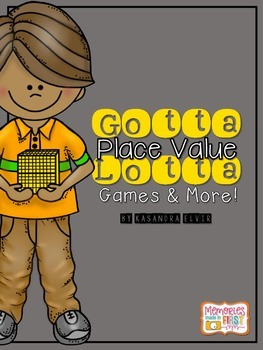 Gotta Lotta Place Value Games Pack
