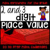 Place Value 2-Digit 3-Digit NO PREP Printables - Math Chal