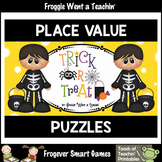 "Place Value--2 Digit Numbers /Tens and Ones/Expanded Notation ""Trick or Treat"""