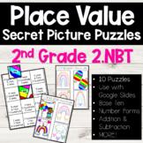 Place Value 2.NBT SECRET PICTURE PUZZLES / Digital / Googl