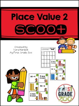 Place Value 2 Scoot Game