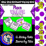 Place Value (2 digit) ~ Sticky Note Activities