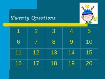 Place Value 20 Questions